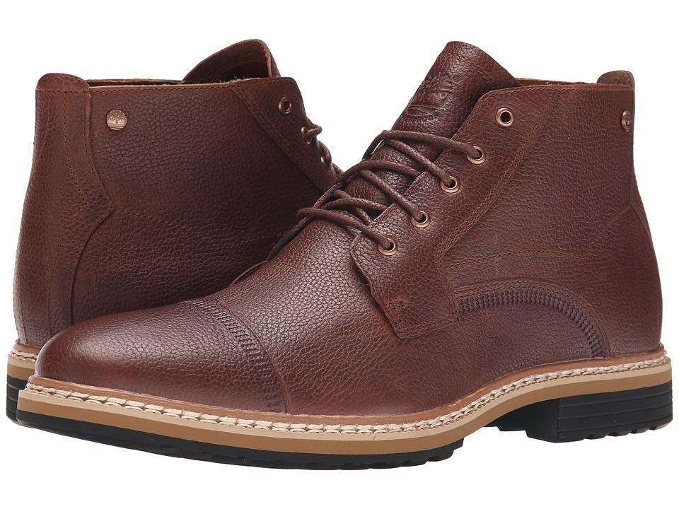 Timberland - West Haven Waterproof Chukka (Dark Brown Full Grain) Men