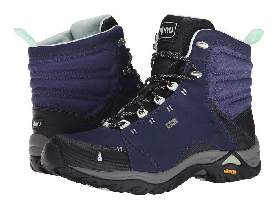 Ahnu Montara Boot Midnight Blue Womens Hiking Boots
