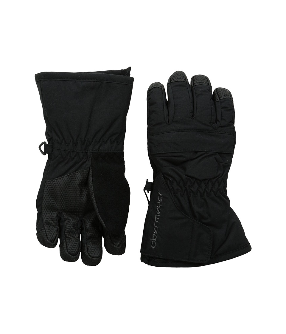 Obermeyer Kids Gauntlet Glove Toddler/Little Kid Black Extreme Cold Weather Gloves