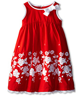 Us Angels - Sleeveless Cotton Dress w/ Embroidery (Little Kids)