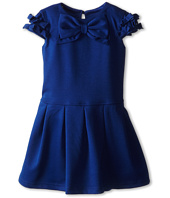 Us Angels - Cap Sleeve Bow Front w/ Drop Waist (Toddler)