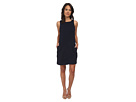 rsvp Donna Sleeveless Shift Dress (Navy)