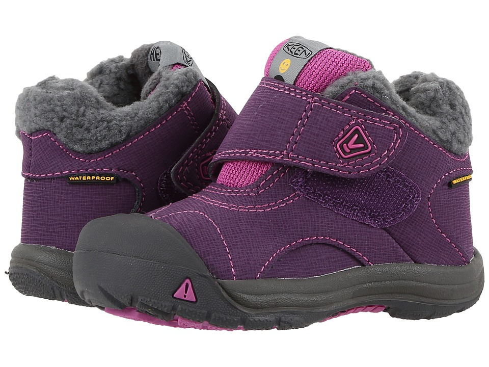 Keen Kids Kooteny WP (Toddler) (Wineberry/Dahlia Mauve) Girls Shoes