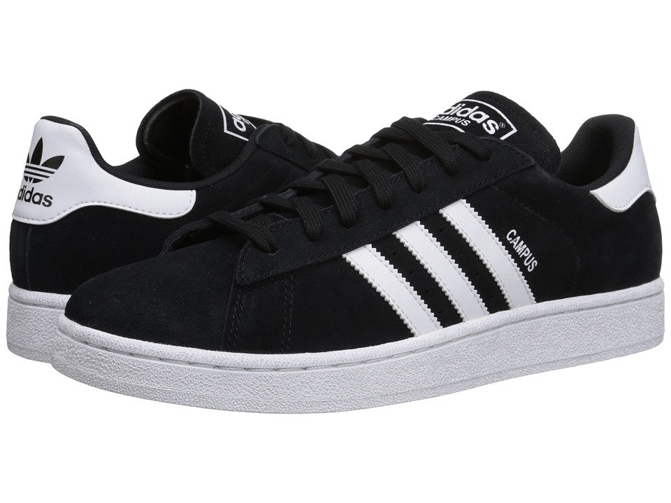 adidas Originals Campus 2 Black/White/Black Mens Shoes