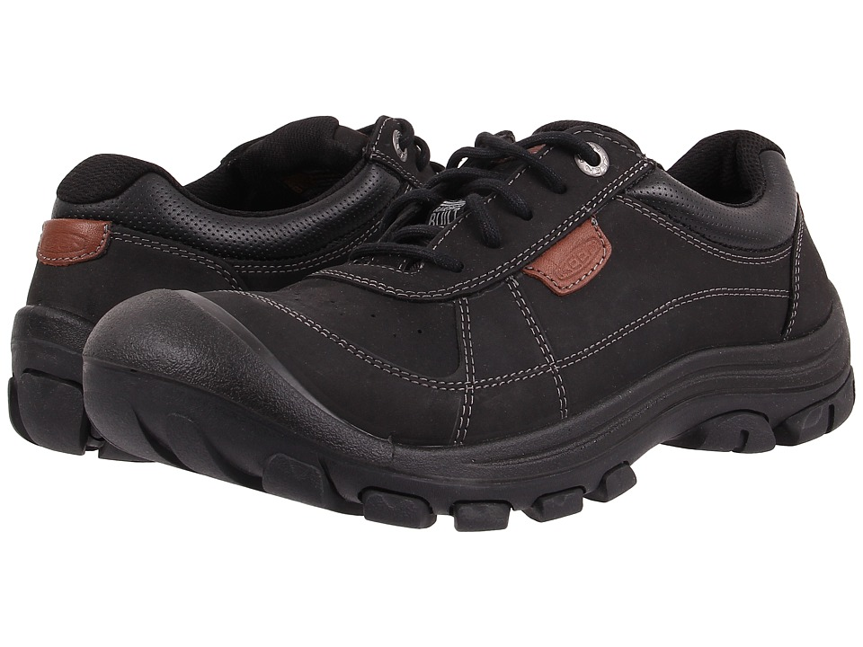 Keen - Piedmont Lace (Black) Men's Lace up casual Shoes
