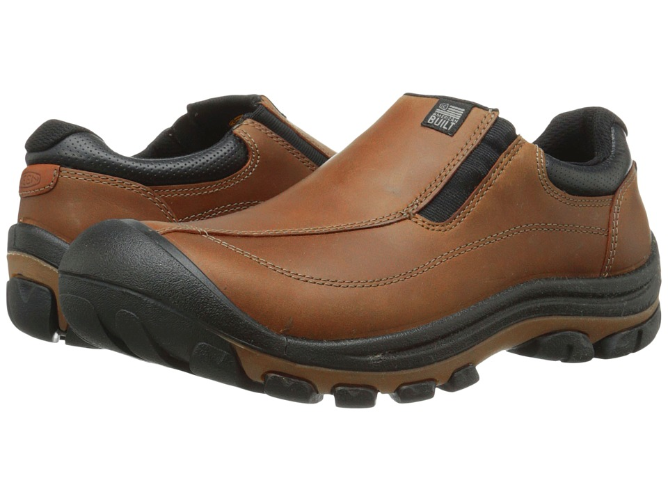 Keen - Piedmont Slip-On (Cascade Brown) Men's Slip on  Shoes