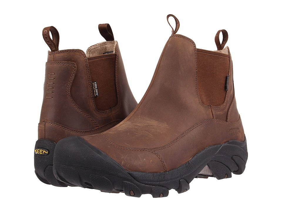 Keen Anchorage Boot II Dark Earth/Shitake Mens Pull on Boots