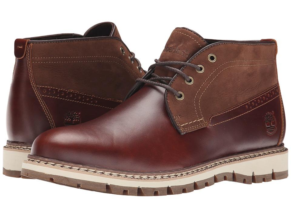 Timberland - Britton Hill Waterproof Chukka (Chestnut Quartz/Buttersoft) Men