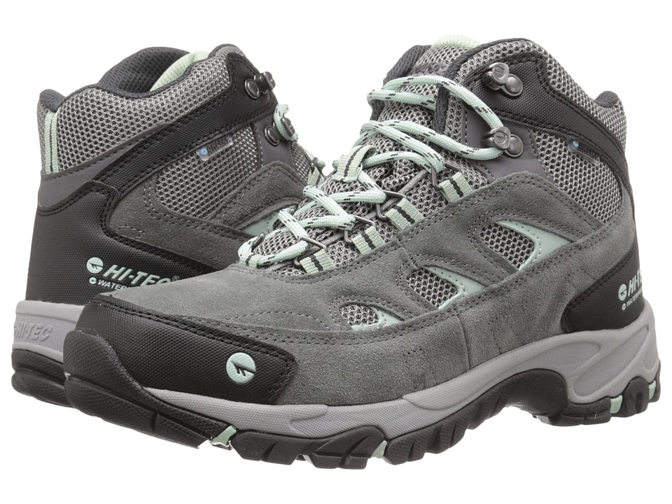 Hi-Tec Logan Mid WP (Charcoal/Cool Grey/Lichen) Women