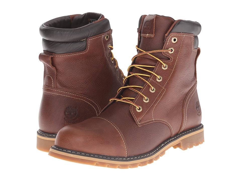 Timberland Chestnut Ridge 6 Insulated Waterproof Boot (Dark Brown Full Grain) Men