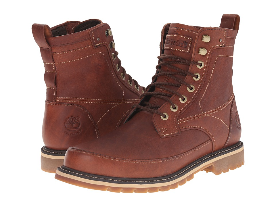 Timberland Earthkeepers Chestnut Ridge 6 Boot Waterproof Brown Full Grain Mens Lace up Boots