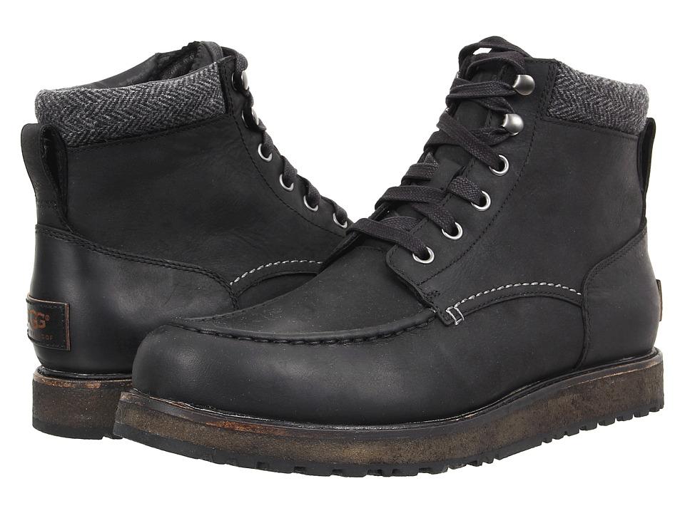 UGG Merrick (Black Leather) Men