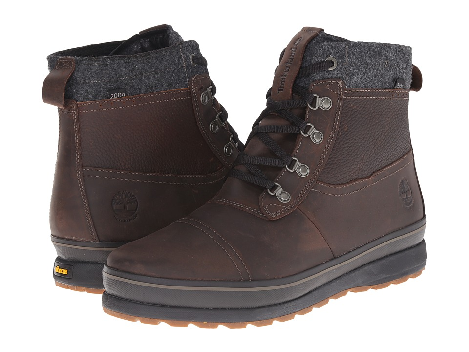 Timberland Schazzberg Mid Waterproof Insulated (Dark Brown) Men