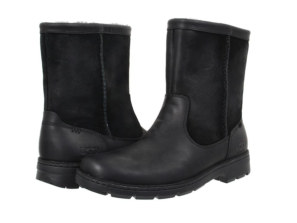 UGG Foerster (Black Leather) Men