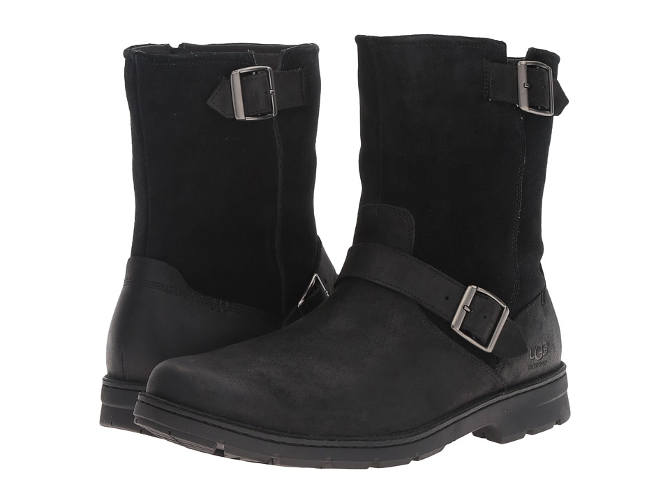 UGG - Messner (Black Leather) Men