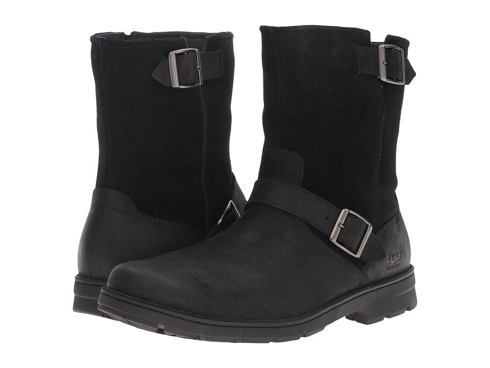 UGG Messner (Black Leather) Men