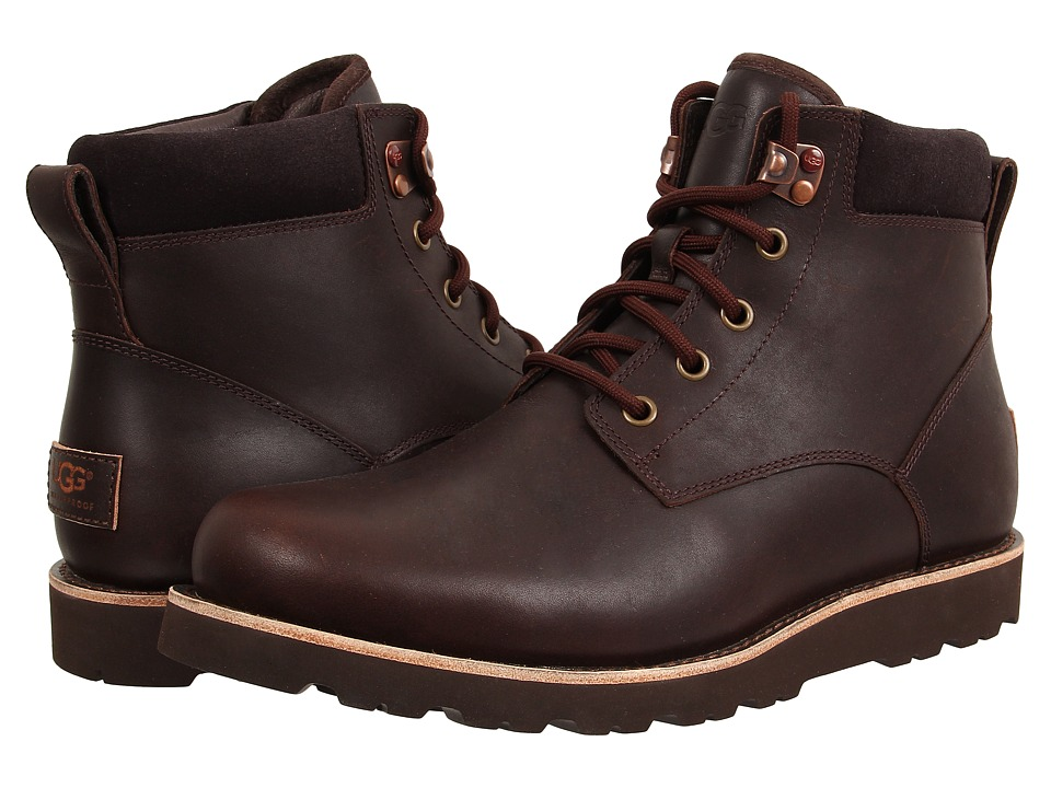 Ugg Seton TL (Stout Leather) Men's Lace up casual Shoes