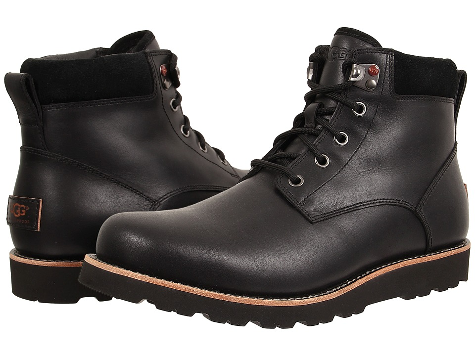 UGG - Seton TL (Black Leather) Men