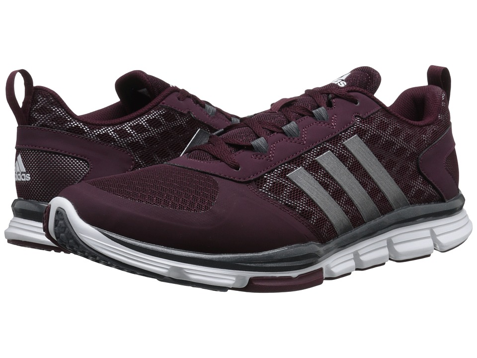 adidas - Speed Trainer 2 (Maroon/Carbon Metallic S14/Tech Grey Metallic S14) Running Shoes