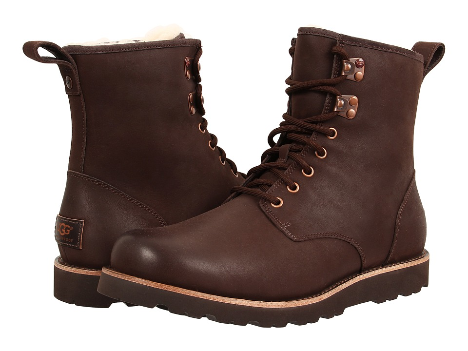 Ugg Hannen TL (Stout Leather) Men's Lace-up Boots
