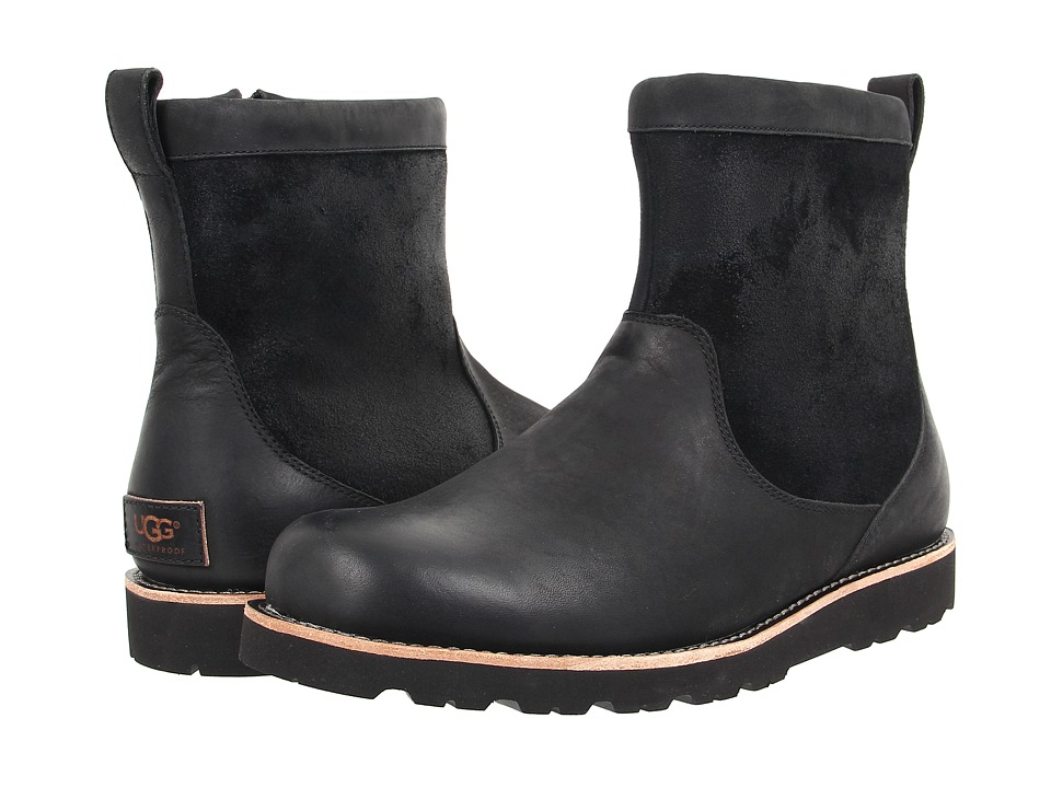 UGG - Hendren TL (Black Leather) Men