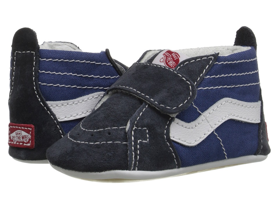 Vans Kids SK8-Hi Crib (Infant/Toddler) (Navy/Navy) Boys Shoes