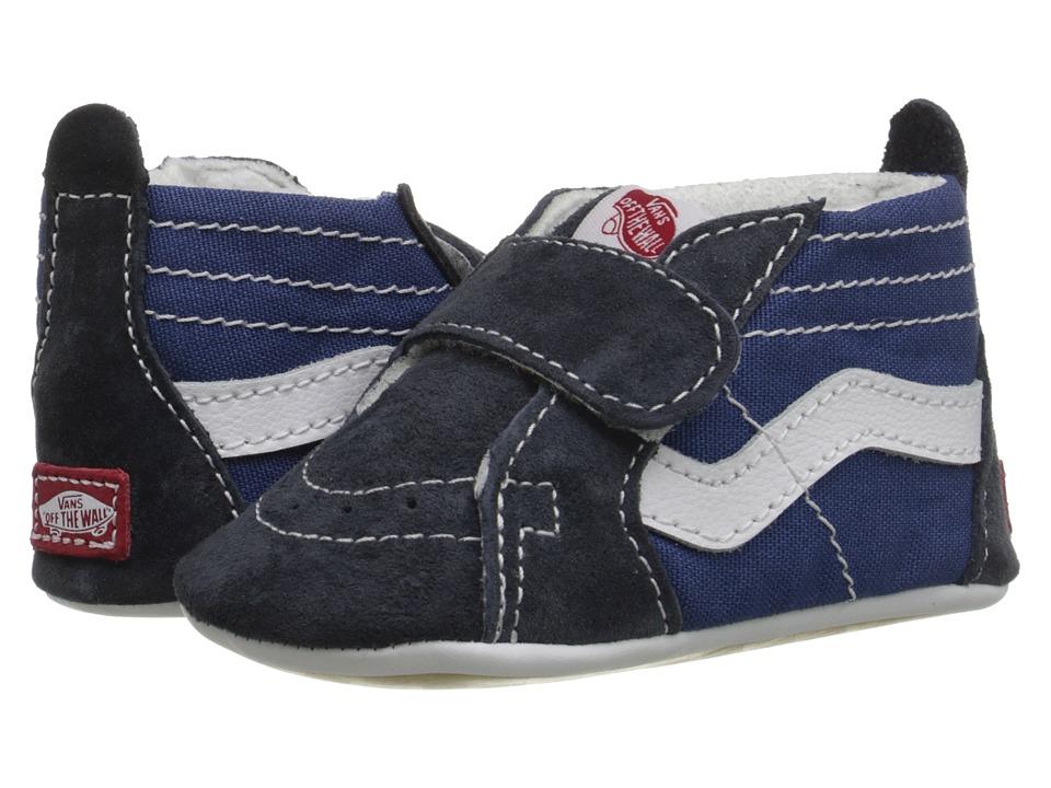 Vans Kids SK8-Hi Crib (Infant/Toddler) (Navy/Navy) Boys Shoes