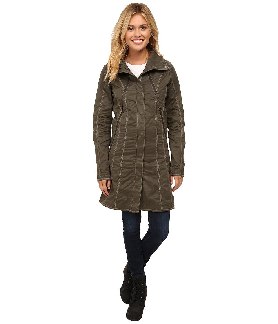 Kuhl Lena Trench Sage Womens Coat