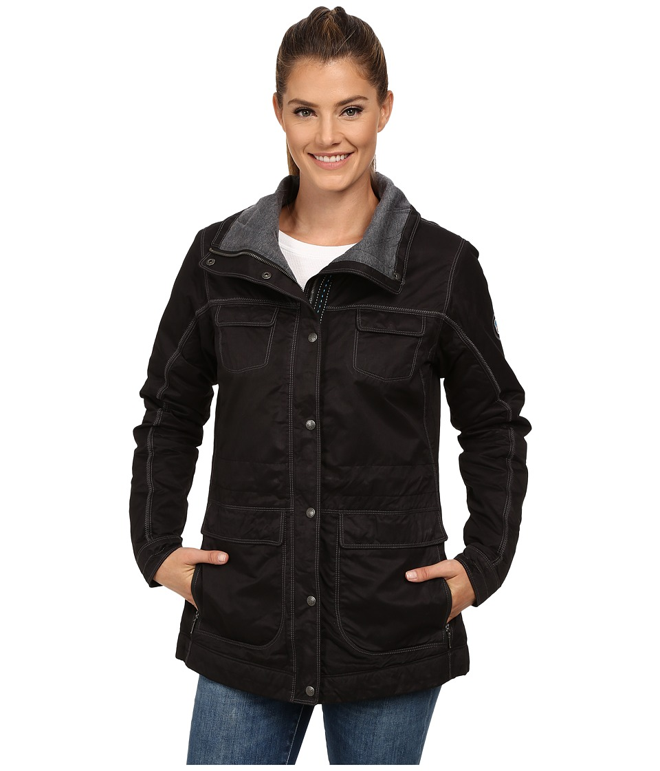 Kuhl Lena Insulated Jacket Raven Womens Coat