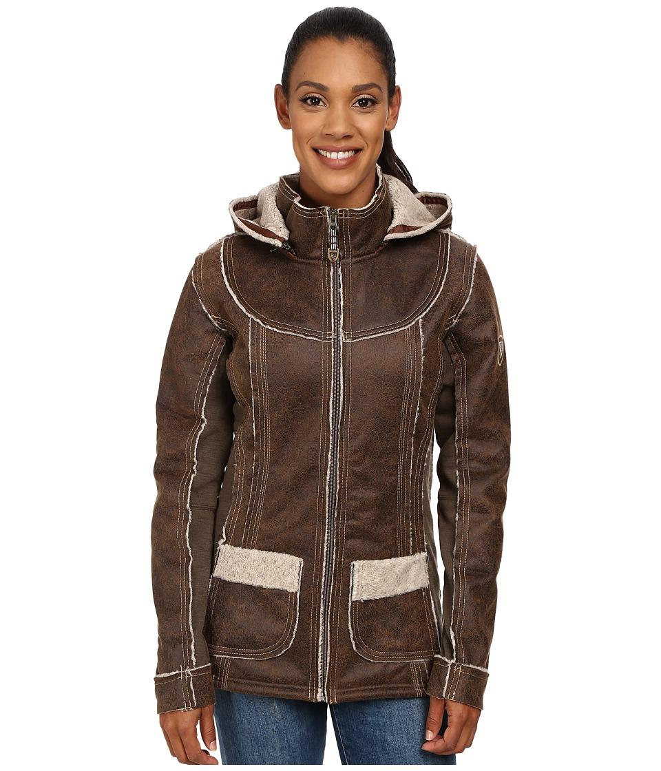 Kuhl Dani Sherpa Jacket Oak Womens Coat