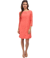 Vince Camuto - 3/4 Sleeve Dress w/ Shirttail Hem