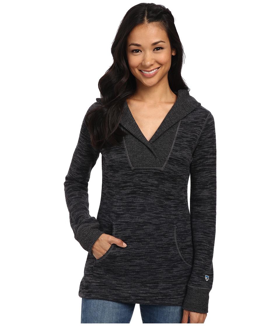 Kuhl Isla Hoodie Raven Womens Long Sleeve Pullover