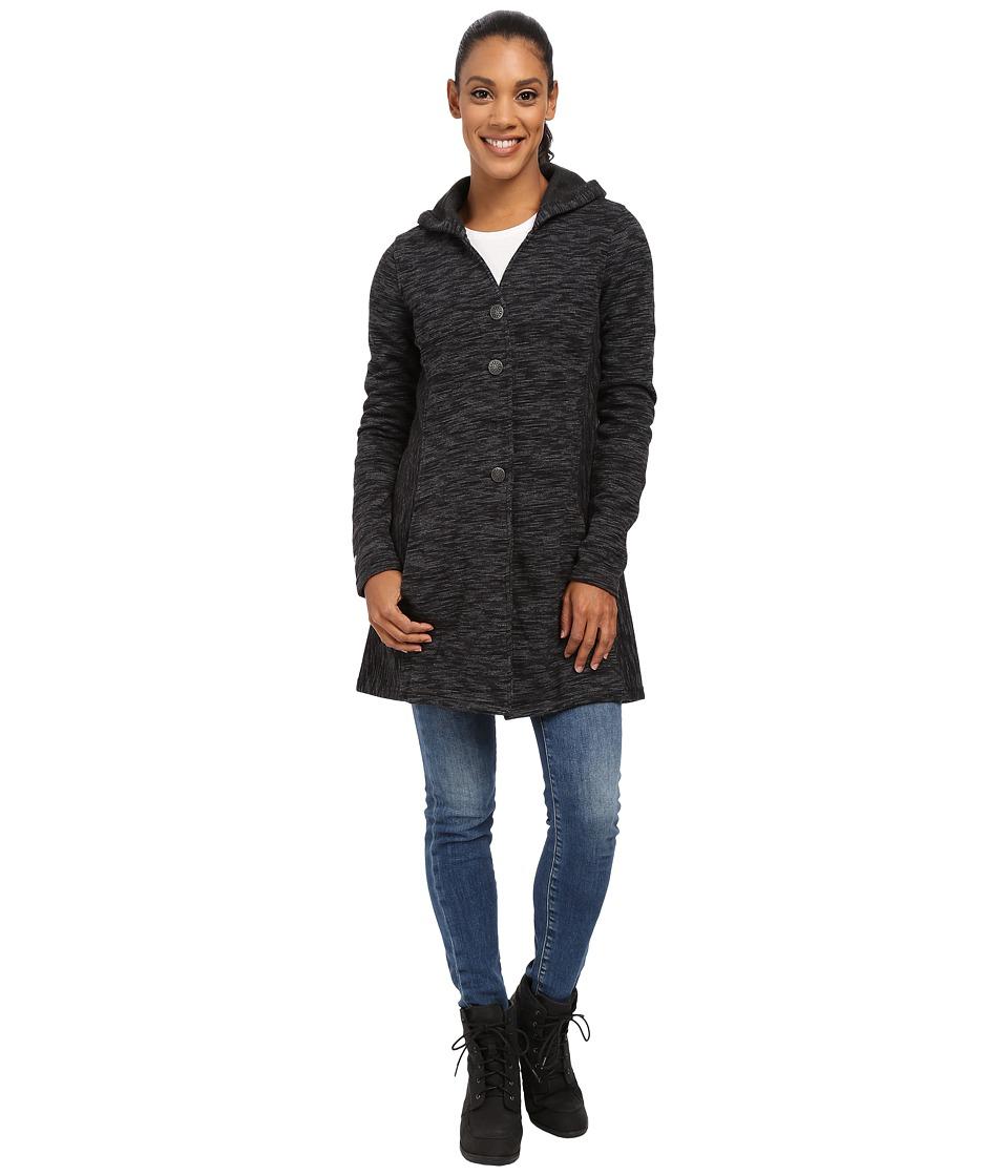Kuhl Isla Long Coat Raven Womens Coat