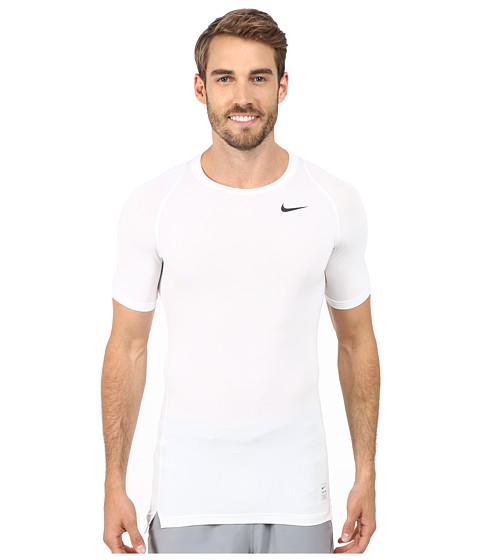 Nike Pro Cool Compression S/S - White/Matte Silver/Black