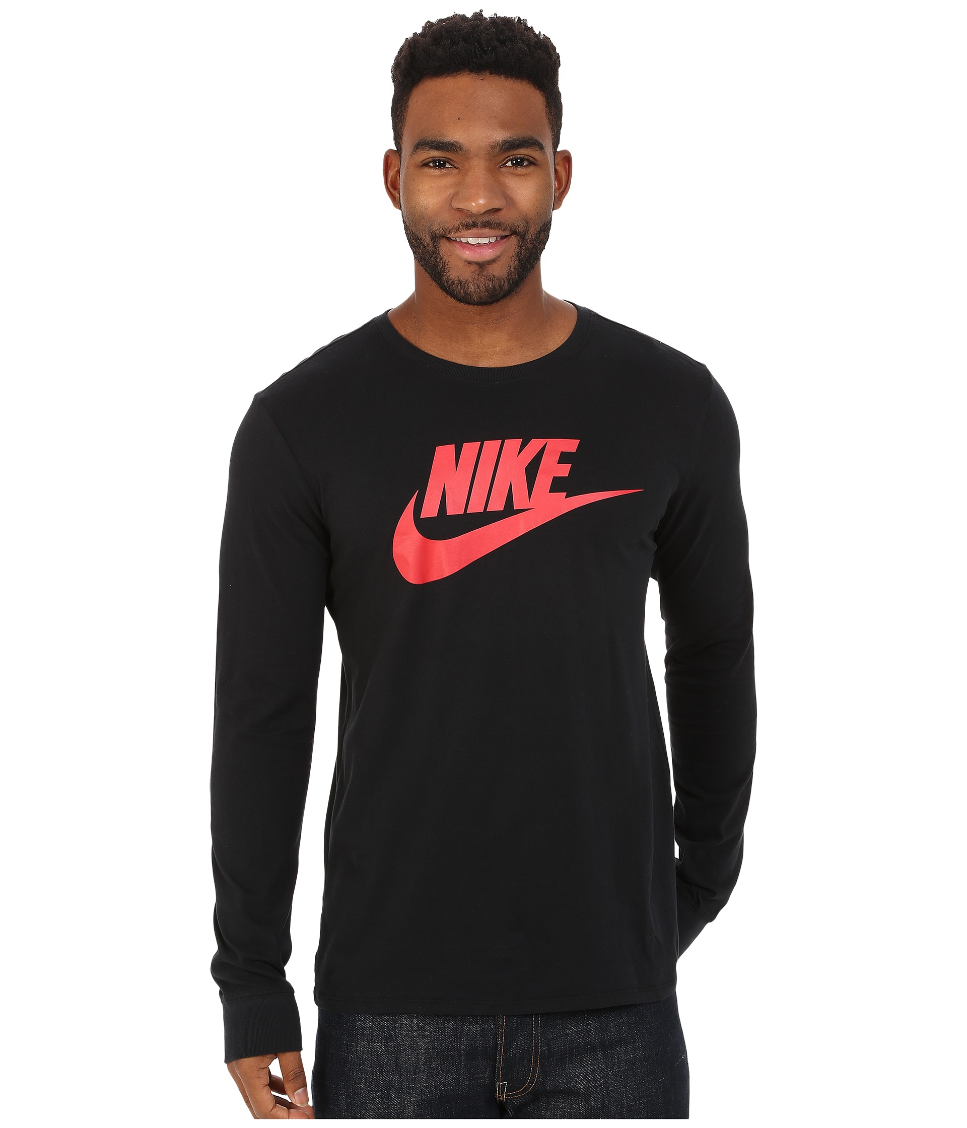 Nike Icon Swoosh Longssleeve Black Electric Green