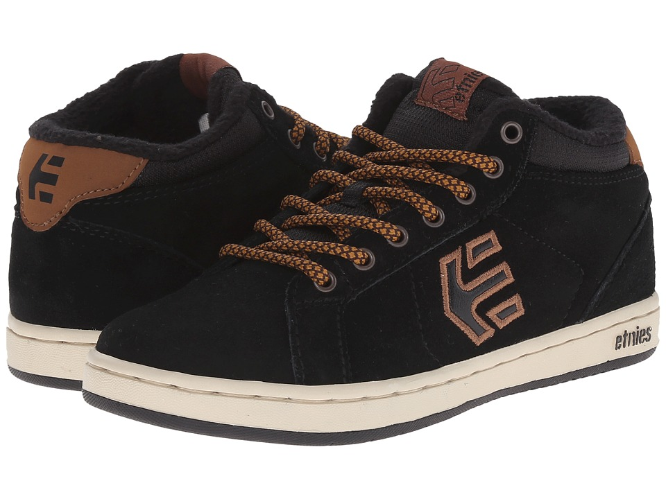 etnies Kids Fader MT Toddler/Little Kid/Big Kid Black/Brown Boys Shoes