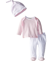 Fendi Kids - Long Sleeve Top and Footed Pants + Hat Gift Set (Infant)