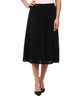 Calvin Klein - Perforated Scuba Midi Skirt