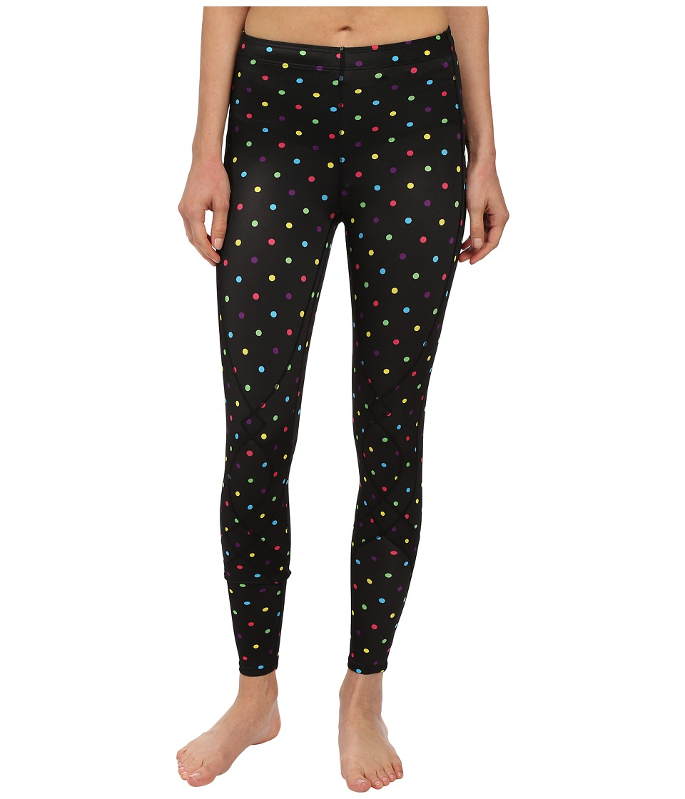 CW X Stabilyx Tights Print Black/Polka Dot Womens Workout