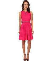Calvin Klein - Geo Eyelet Dress