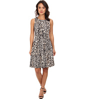 Calvin Klein - Printed Fit & Flare Scuba Dress