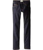 Fendi Kids - Denim Pants w/ Logo On Back (Little Kids)