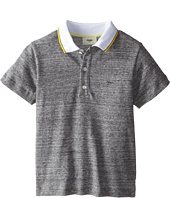 Fendi Kids - Polo w/ Contrast Collar (Little Kids)