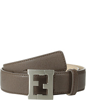 Fendi Kids - Leather Belt w/ Logo Buckle (Toddler/Little Kids/Big Kids)