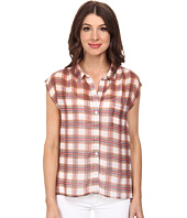 Jack by BB Dakota - Arbor Plaid Crinkle Chiffon Top