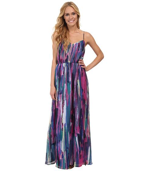 Jack by BB Dakota - Barby Paintstroke Printed Dress (Multi) Women's Dress