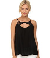 Jack by BB Dakota - Reeve Challi Top w/ Scallop Trim