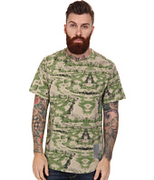 Marc Ecko Cut & Sew - Nomads Camo Printed Short Sleeve Knit Top