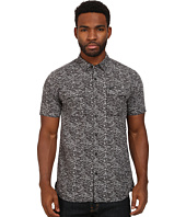 Marc Ecko Cut & Sew - Granite Printed Short Sleeve Woven Top
