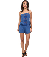 Lucky Brand - Dream Catcher Romper Cover-Up